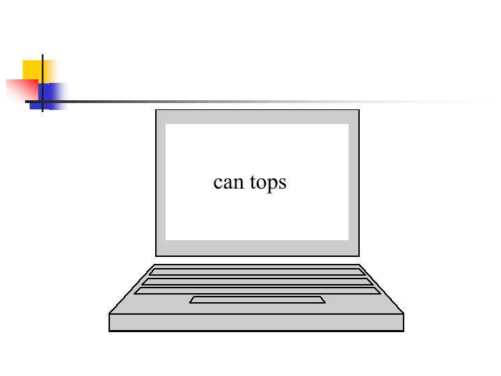 can tops