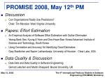 promise 2008 may 12 th pm