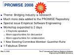 promise 2008