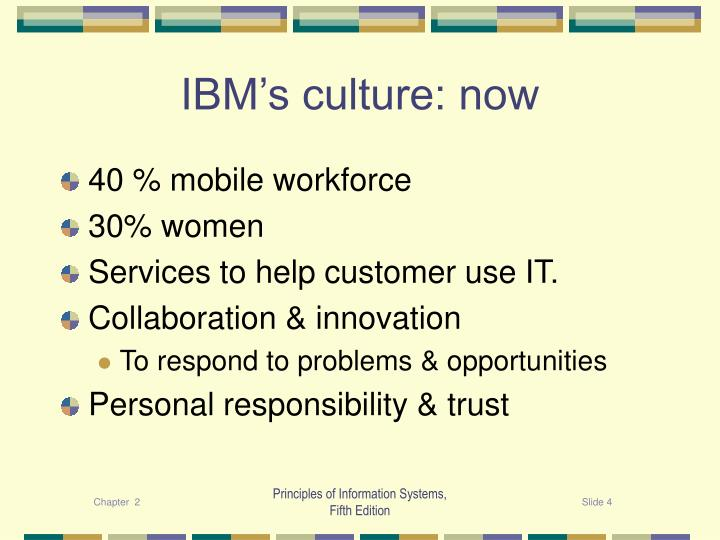 IBM's culture: now