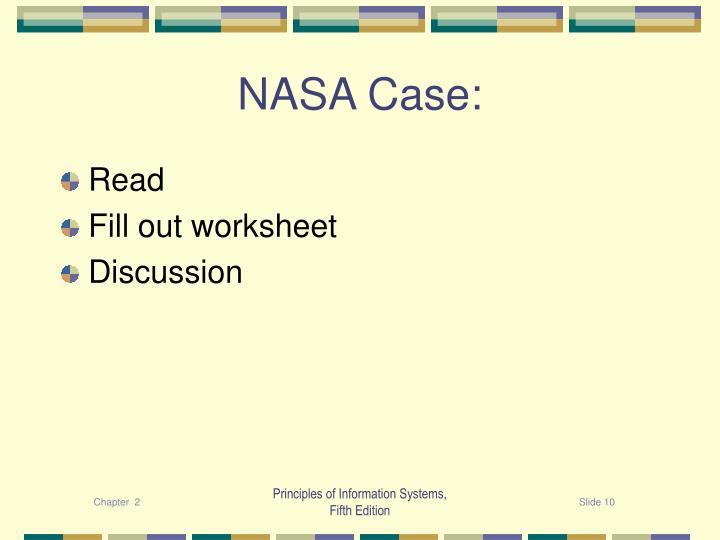 NASA Case: