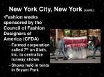 new york city new york cont
