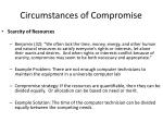 circumstances of compromise6