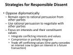 strategies for responsible dissent2