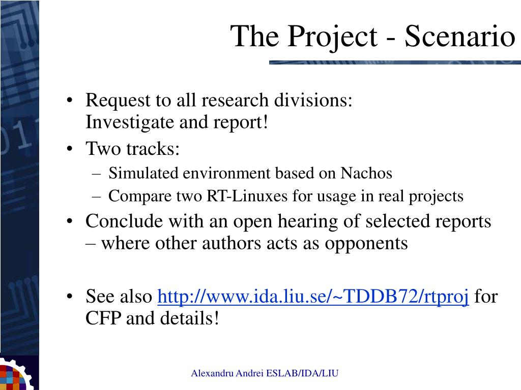 Request to all research divisions: