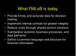 what fmlob is today