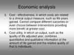 economic analysis1