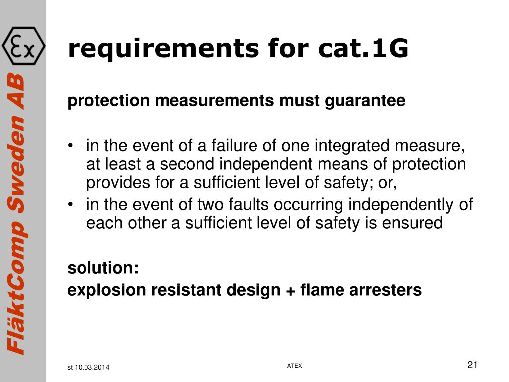 requirements for cat.1G