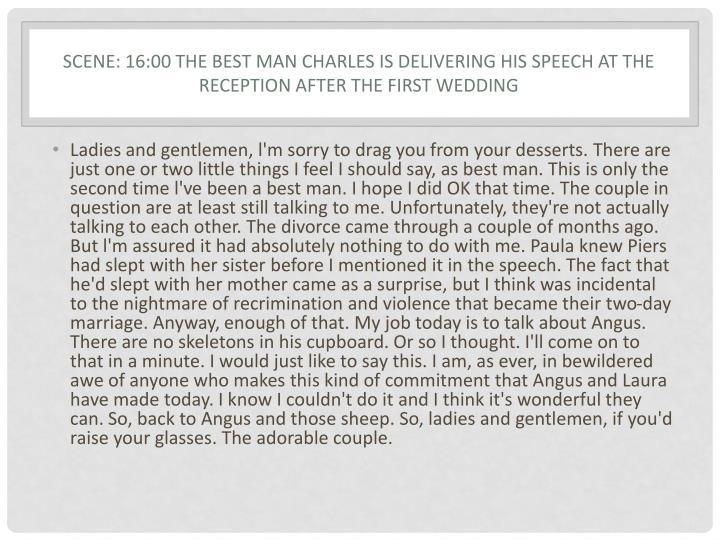Scene: 16:00 The best man Charles