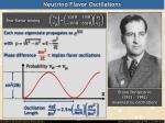 neutrino flavor oscillations