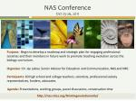 nas conference oct 25 26 2011