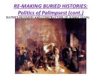 re making buried histories politics of palimpsest cont1