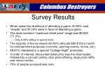 survey results1