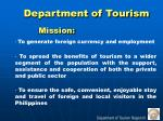 department of tourism2