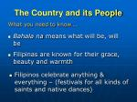 the country and its people3
