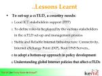 lessons learnt11