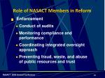 role of nasact members in reform1