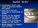 dental grillz