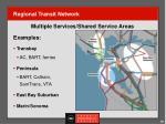 regional transit network