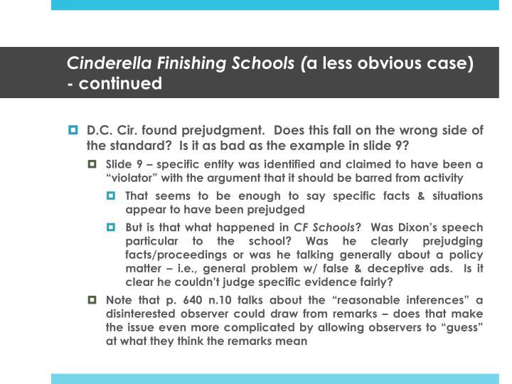 Cinderella Finishing Schools (