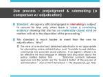 due process prejudgment rulemaking a comparison w adjudication