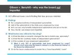 gibson v berryhill why was the board not impartial