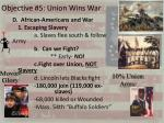 objective 5 union wins war1