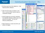 communication assistant pro