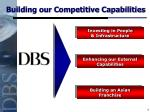 building our competitive capabilities