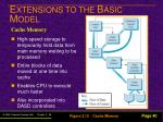 e xtensions to the b asic m odel35