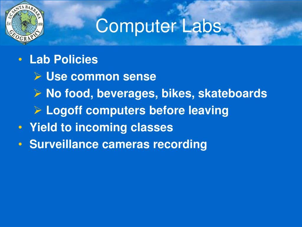 Computer Labs