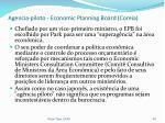agencia piloto economic planning board coreia