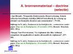 a bronnenmateriaal doctrine selectie5