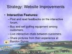 strategy website improvements2