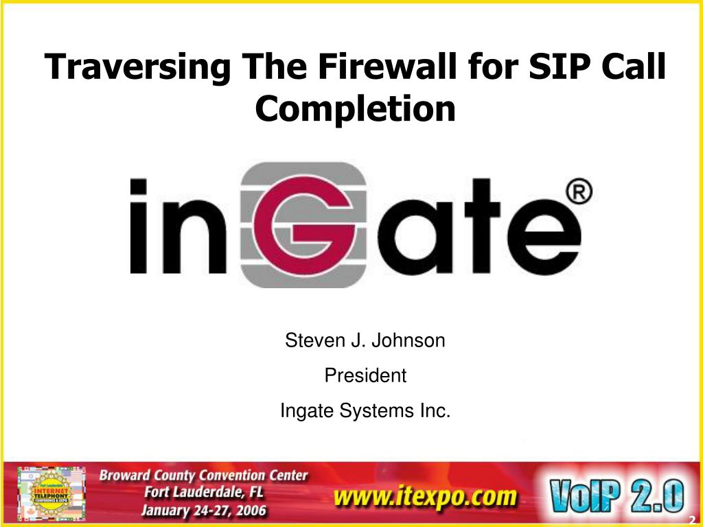 Traversing The Firewall for SIP Call Completion