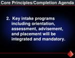 core principles completion agenda1
