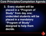 core principles completion agenda2