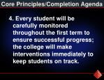 core principles completion agenda3