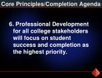 core principles completion agenda5
