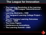 the league for innovation