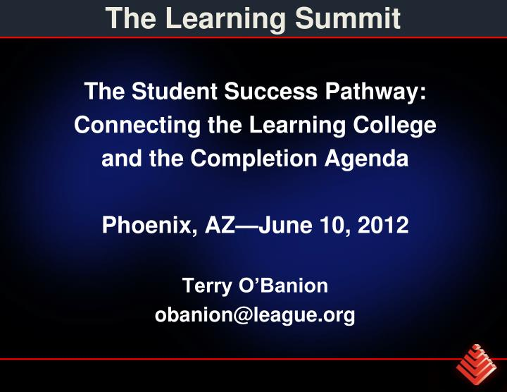 the learning summit n.
