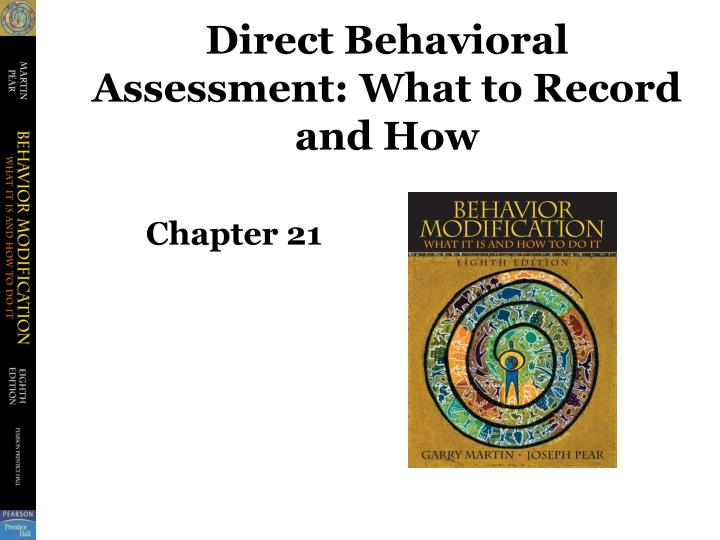direct behavioral assessment what to record and how n.