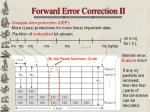 forward error correction ii