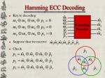 hamming ecc decoding