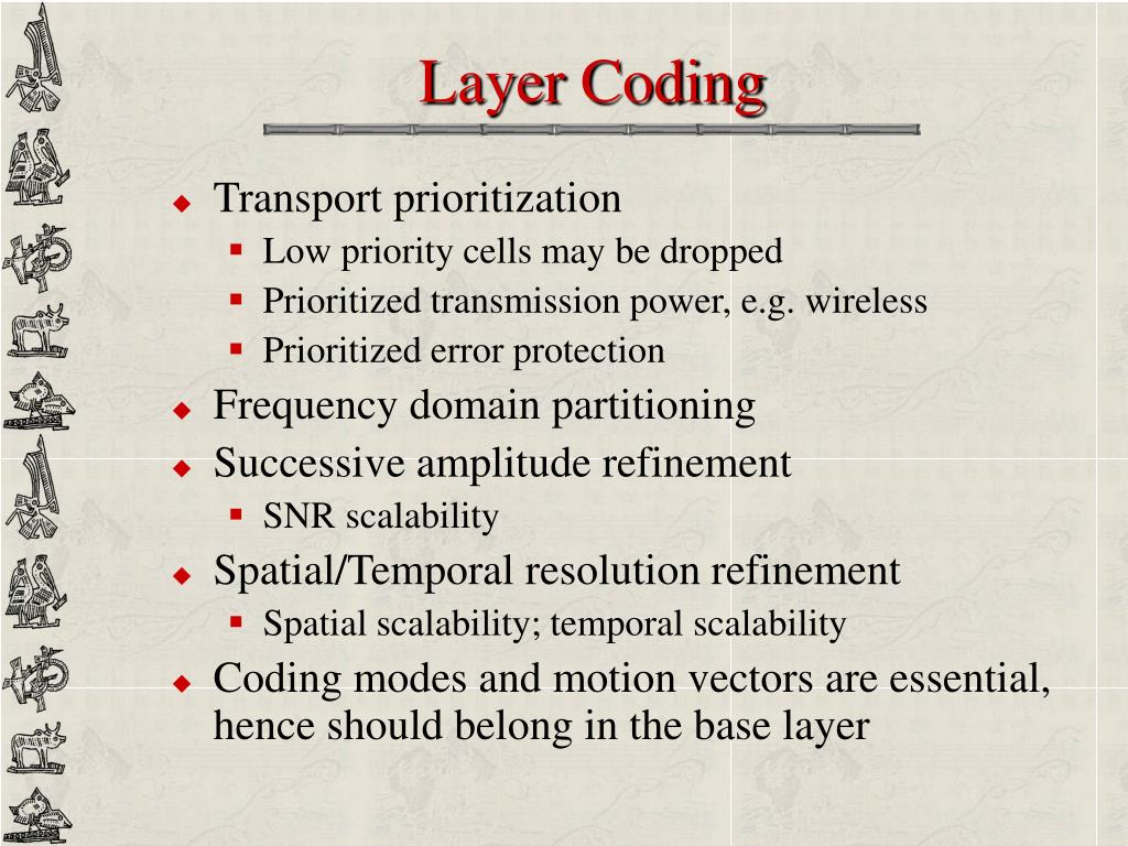 Layer Coding