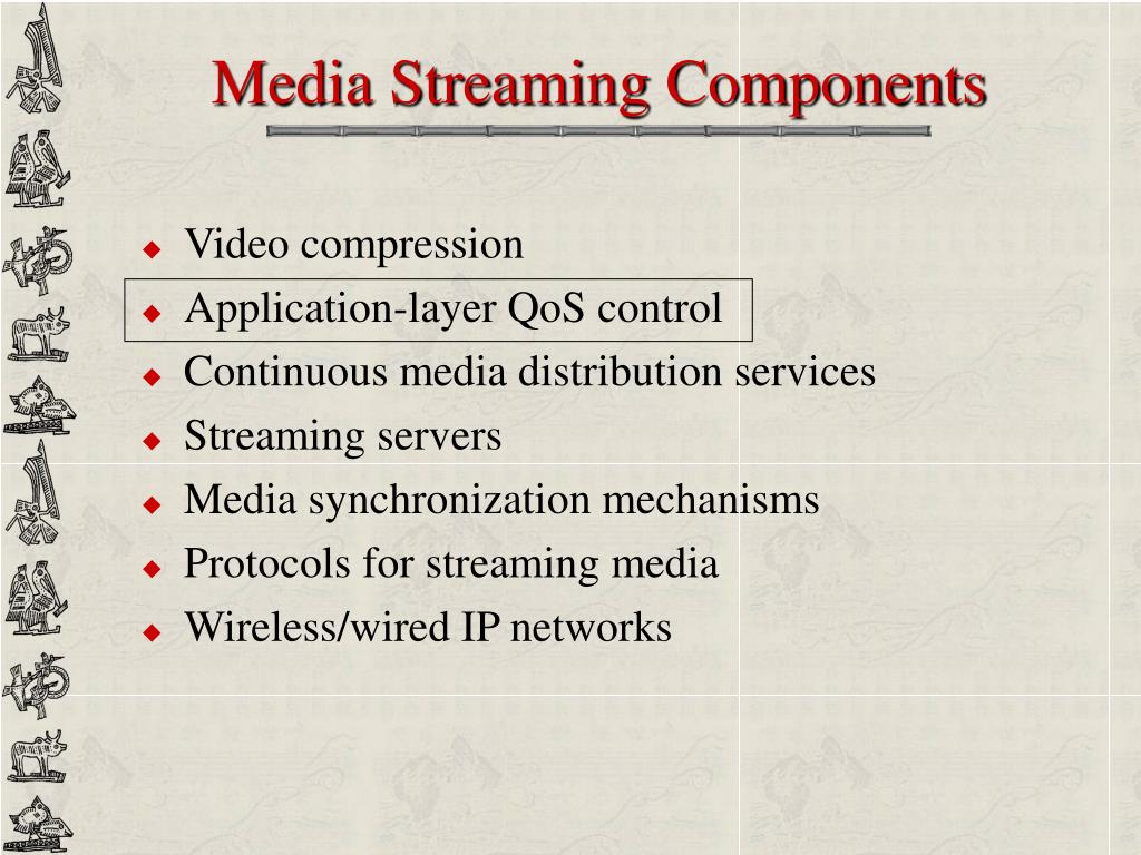 Media Streaming Components