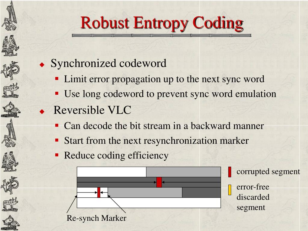 Robust Entropy Coding