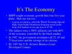 it s the economy