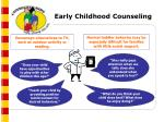 early childhood counseling