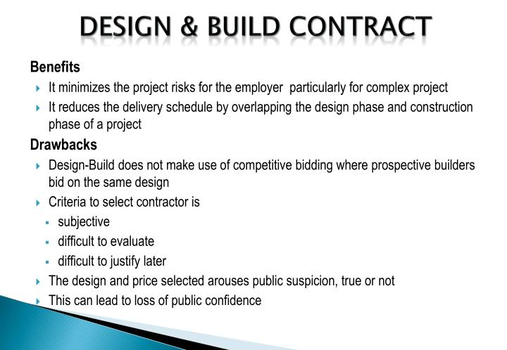 Ppt application of epc bot ppp contracts powerpoint for How to build a contract